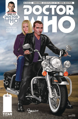 Doctor Who: New Adventures with the Ninth Doctor #13 (Myers Cover)