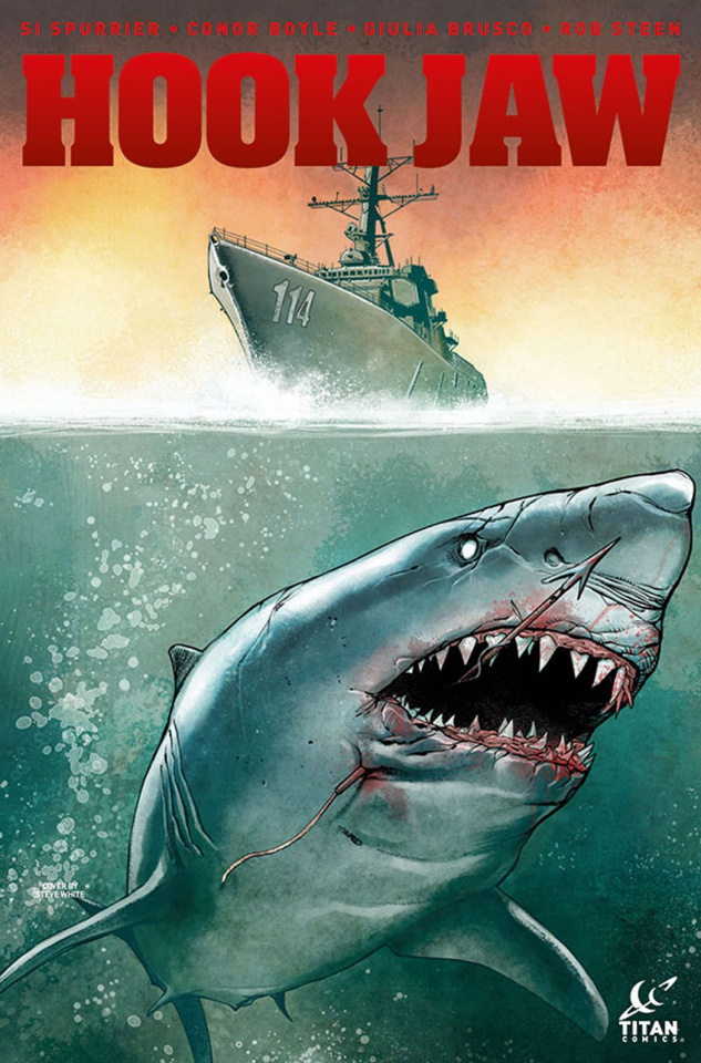 Hookjaw #3 (Teague Cover)