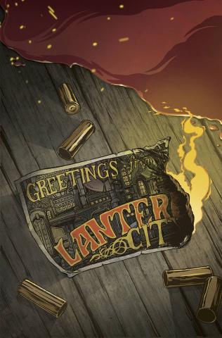 Lantern City #1 (Boardwalk Con Cover)