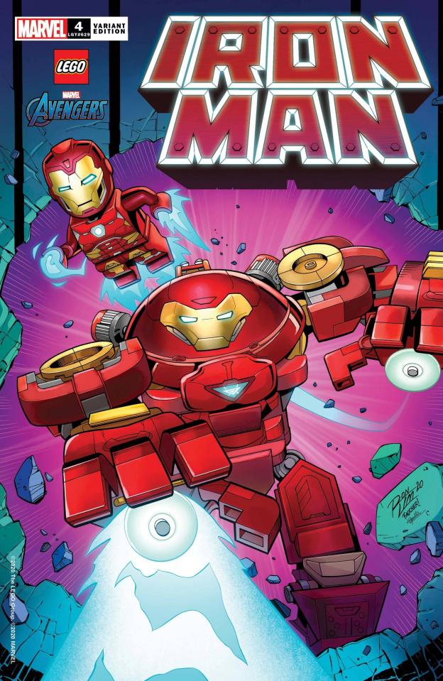 Iron Man #4 (Ron Lim Lego Cover)
