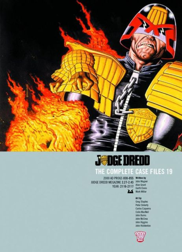 Judge Dredd: The Complete Case Files Vol. 19