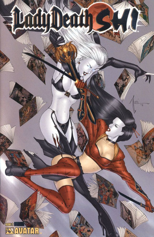 Lady Death / Shi #2 (Platinum Foil Cover)