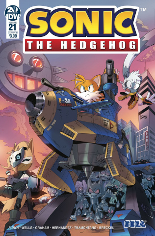 Sonic the Hedgehog #21 (Peppers Cover)