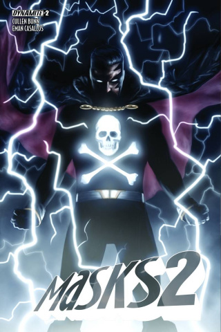 Masks 2 #2 (10 Copy Worley Black Terror Cover)