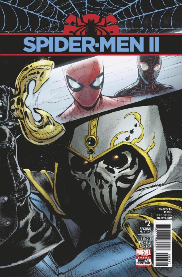 Spider-Men II #2 (2nd Printing Pichelli Cover)