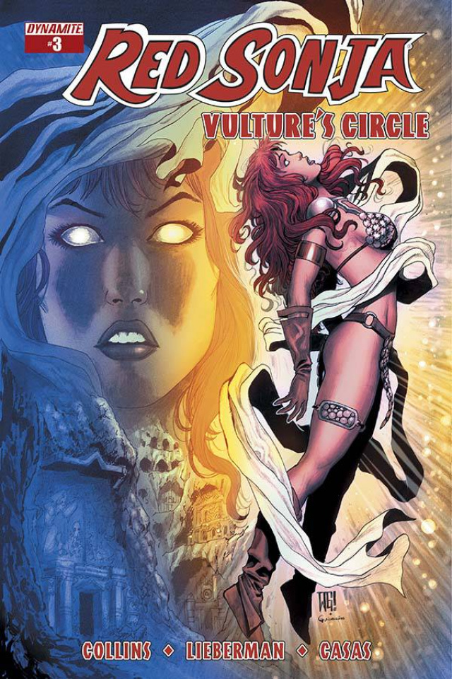 Red Sonja: Vulture's Circle #3 (Geovani Cover)