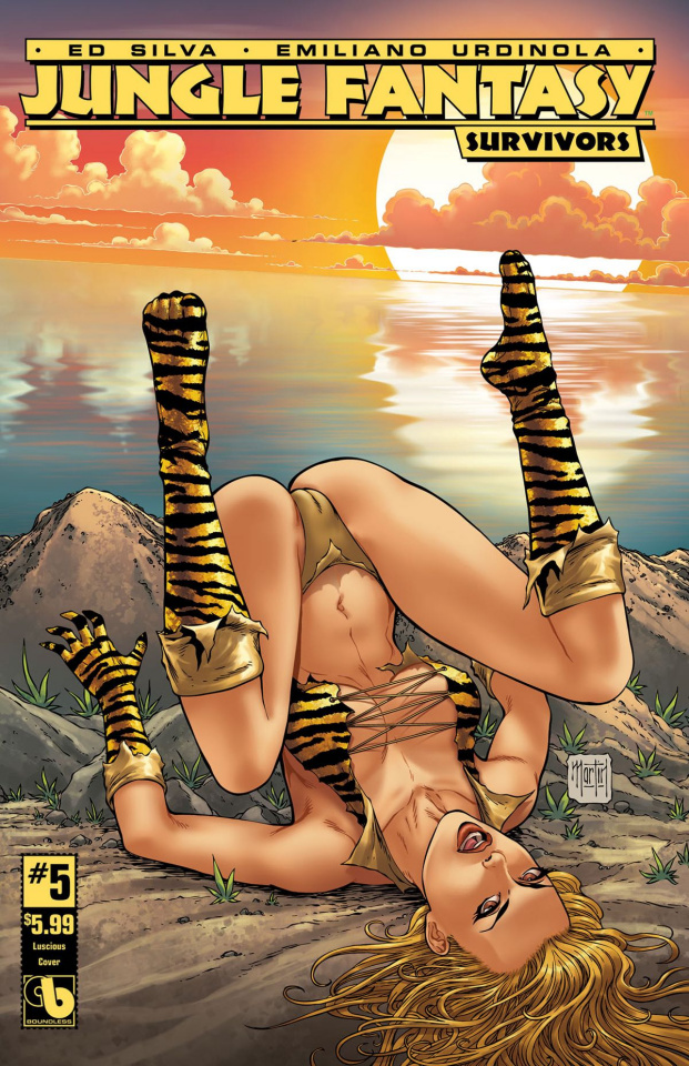 Jungle Fantasy: Survivors #5 (Luscious Cover)