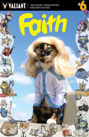 Faith #6 (Cat Cosplay Cover)