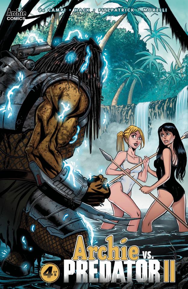 Archie vs. Predator II #4 (Seeley Cover)