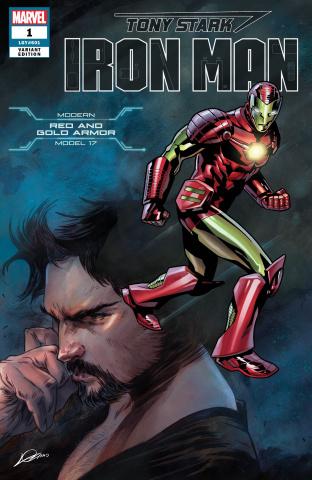 Tony Stark: Iron Man #1 (Heroes Reborn Kurt Armor Cover)