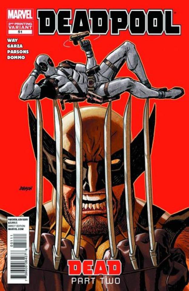 Deadpool #51 (2nd Printing)