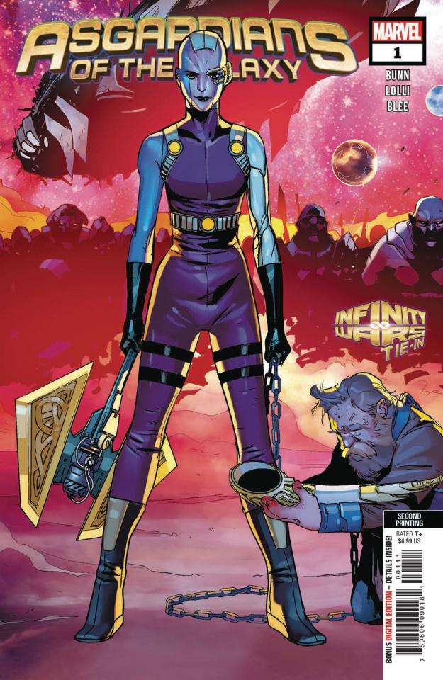 Asgardians of the Galaxy #1 (Lolli 2nd Printing)