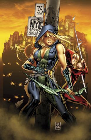 Grimm Fairy Tales: Robyn Hood #4 (Lashley Cover)