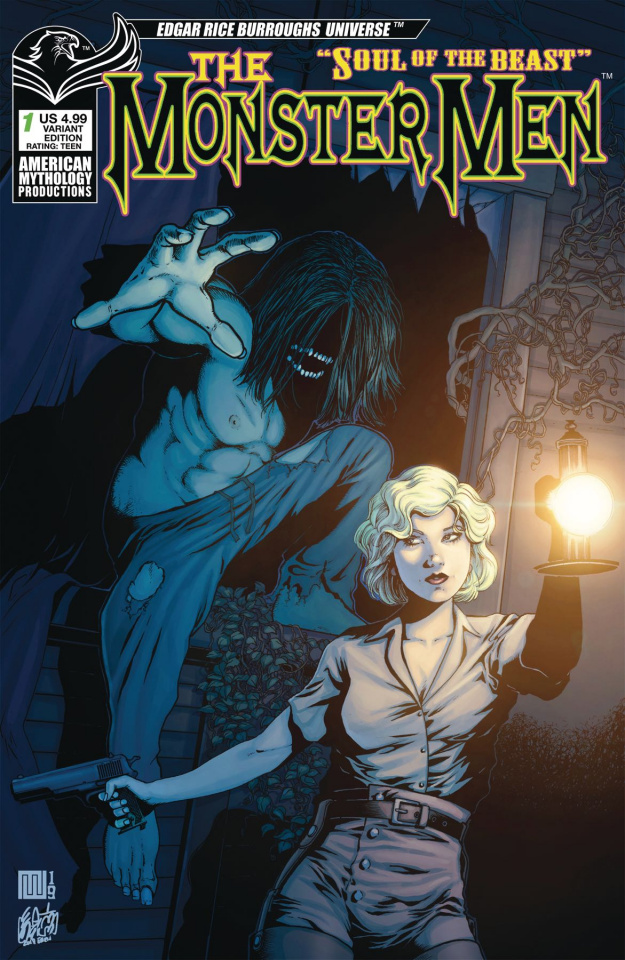 The Monster: Men Soul of the Beast #1 (Creeping Doom Cover)