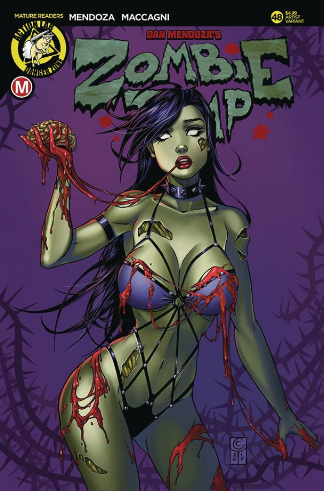 Zombie Tramp #48 (Turner Cover)