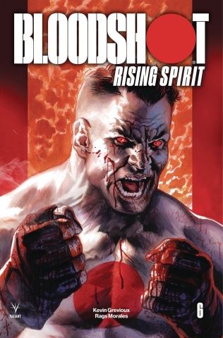 Bloodshot: Rising Spirit #6 (Massafera Cover)