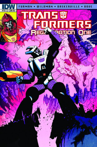The Transformers: Regeneration One #91 (10 Copy Cover)