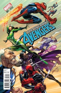 Uncanny Avengers #1 (Campbell Cover)
