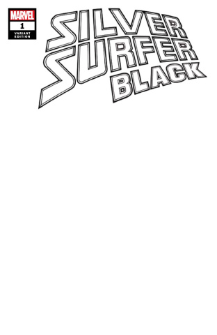 Silver Surfer: Black #1 (Blank Cover)
