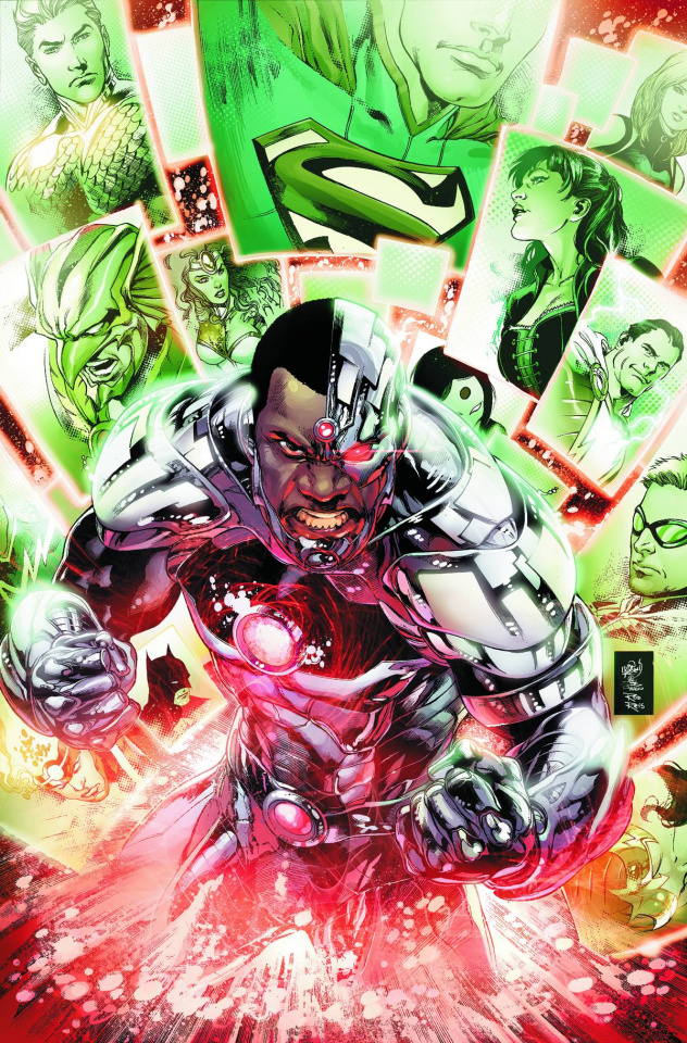 Justice League #18 (Kuder Cover)