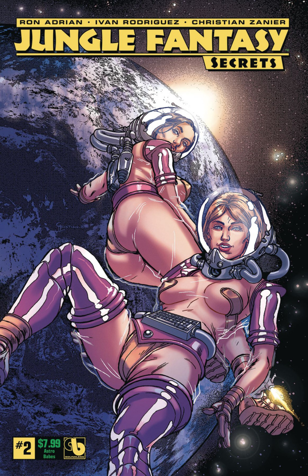 Jungle Fantasy: Secrets #2 (Astro Babes Cover)