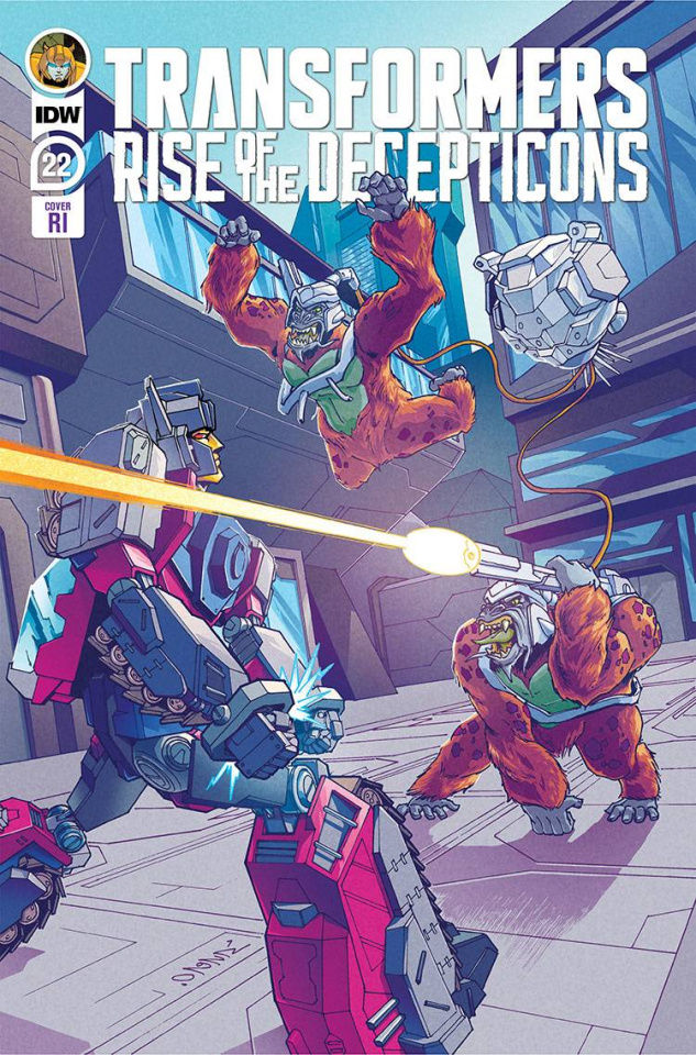 The Transformers #22 (10 Copy Chan Cover)