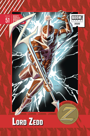 Mighty Morphin' Power Rangers #51 (10 Copy Anka Cover)