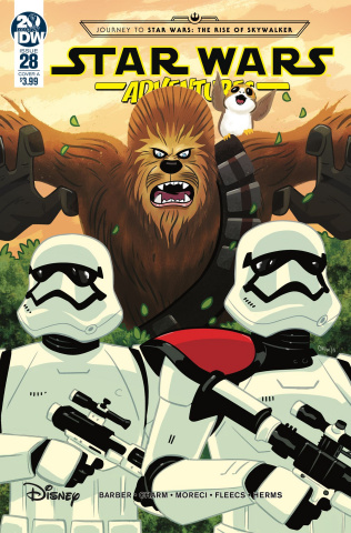 Star Wars Adventures #28 (Charm Cover)