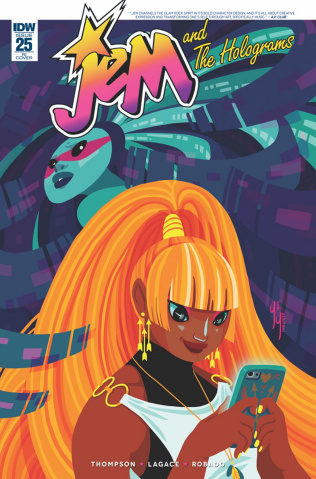 Jem and The Holograms #25 (10 Copy Cover)