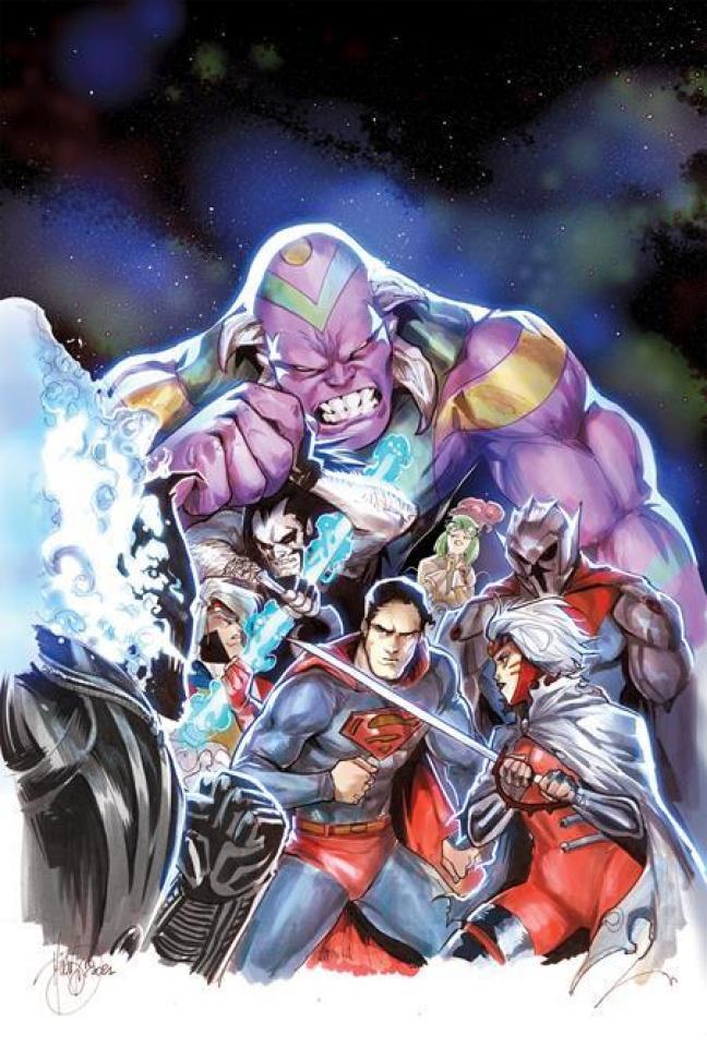Superman vs. Lobo #3 (Mirka Andolfo Cover)