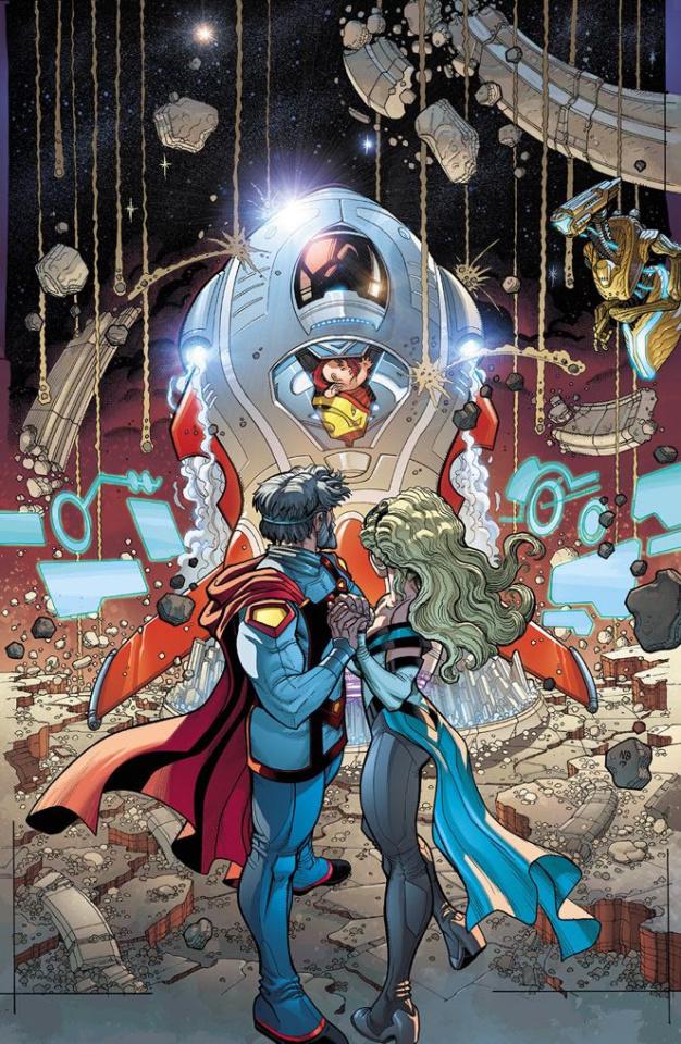 Action Comics #988 (Lenticular Cover)