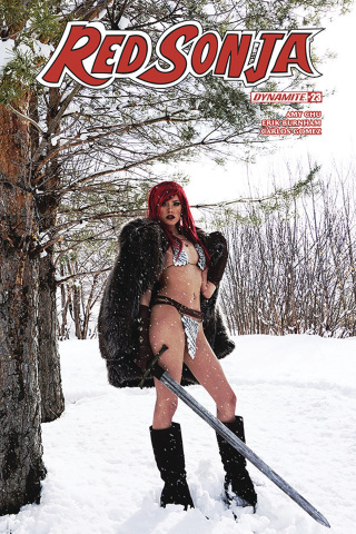 Red Sonja #23 (Cosplay Cover)