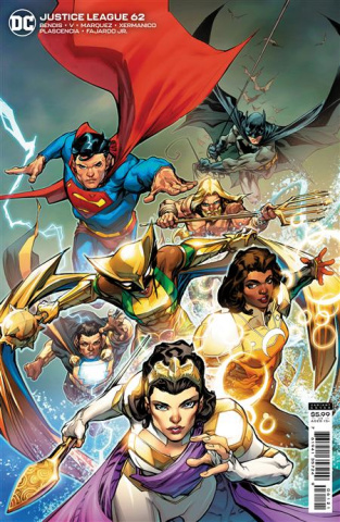 Justice League #62 (Howard Porter Card Stock Cover)