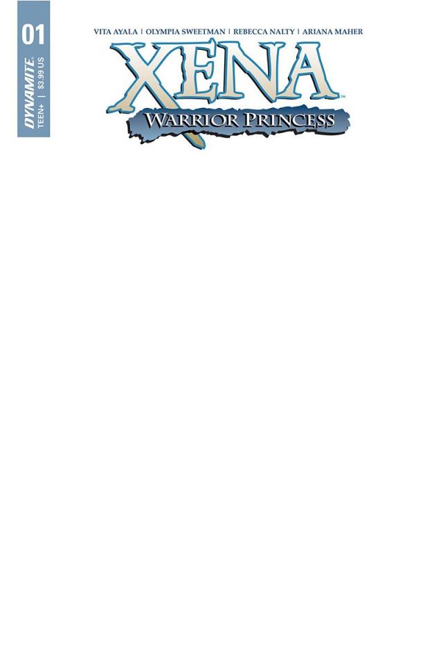 Xena: Warrior Princess #1 (Blank Authentix Cover)