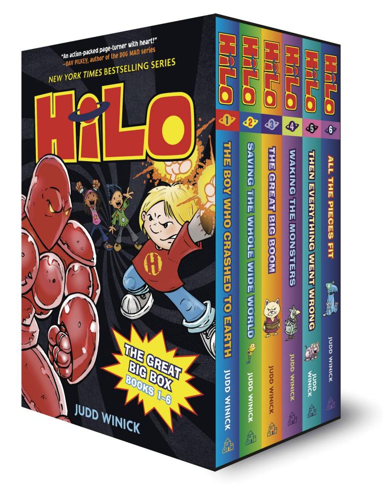 Hilo: The Great Big Box Set