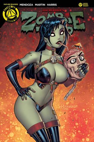 Zombie Tramp #17 (Kinnaird Cover)