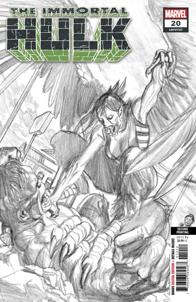 The Immortal Hulk #20 (Alex Ross 2nd Printing)
