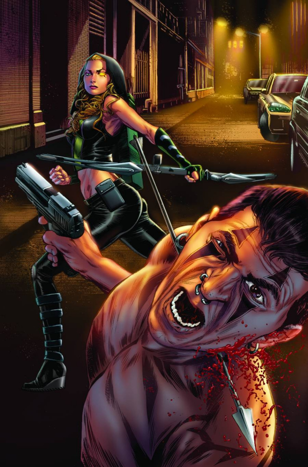 Robyn Hood #5 (Triano Cover)