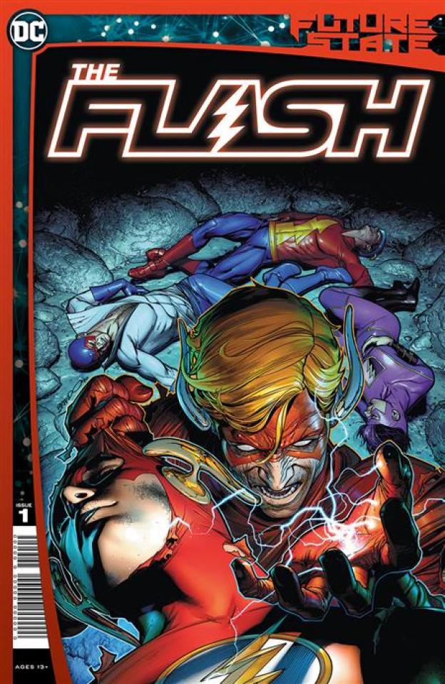 Future State: The Flash #1 (Brandon Peterson Cover)