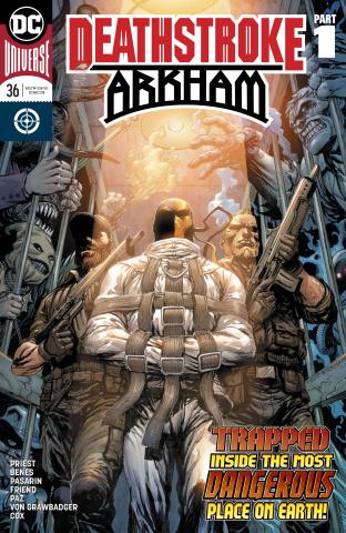 Deathstroke #36: Arkham