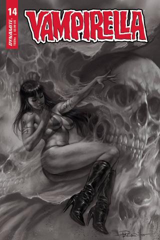 Vampirella #14 (10 Copy Parrillo B&W Cover)