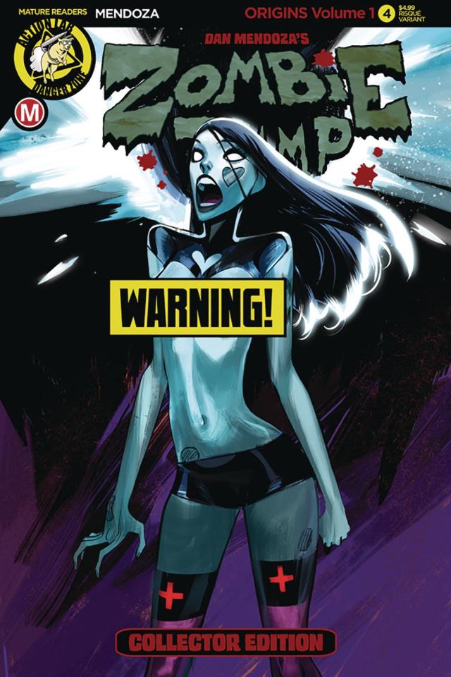 Zombie Tramp: Origins #4 (Celor Risque Cover)