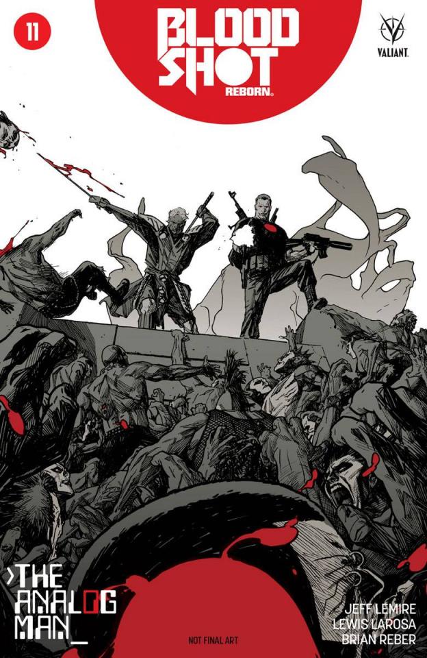 Bloodshot: Reborn #11 (Sook Cover)