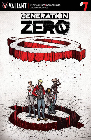 Generation Zero #7 (20 Copy Lee Cover)