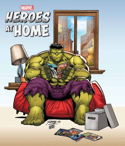 Heroes at Home #1 (Ron Lim Cover)