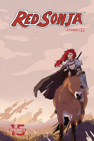 Red Sonja #5 (St Onge Cover)