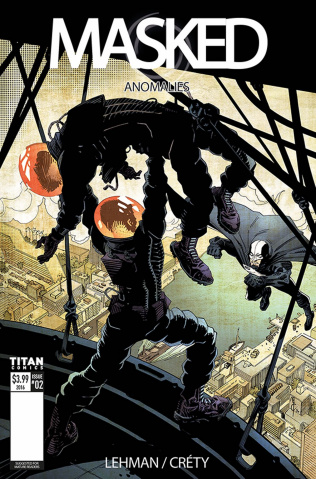 Masked #2 (McCrea Cover)