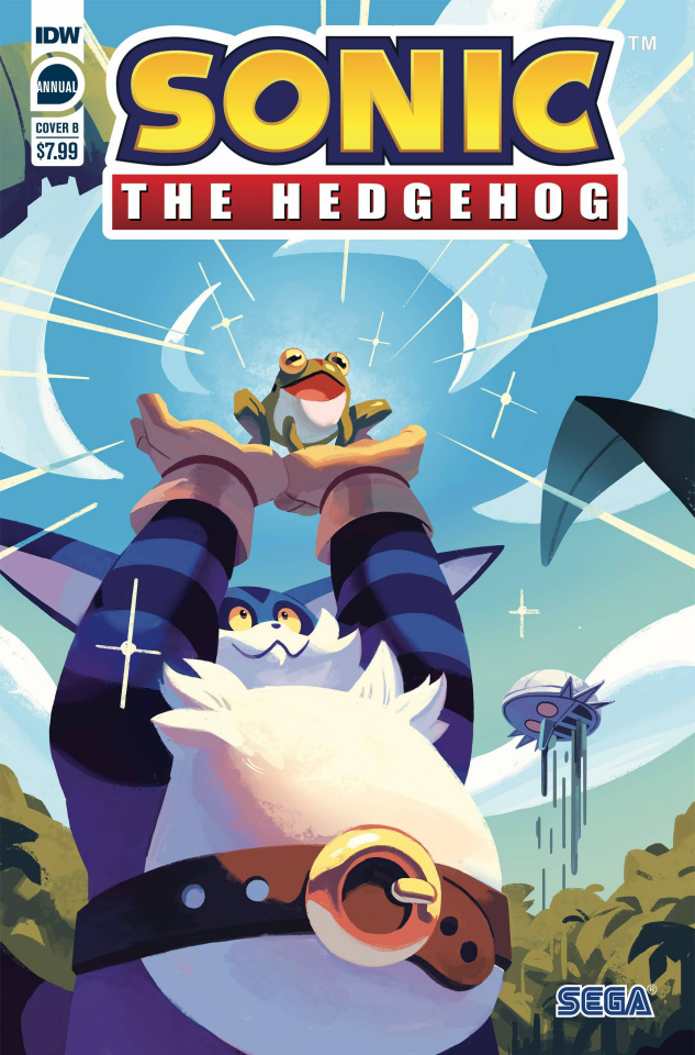 Sonic the Hedgehog Annual 2020 (Fourdraine Cover)