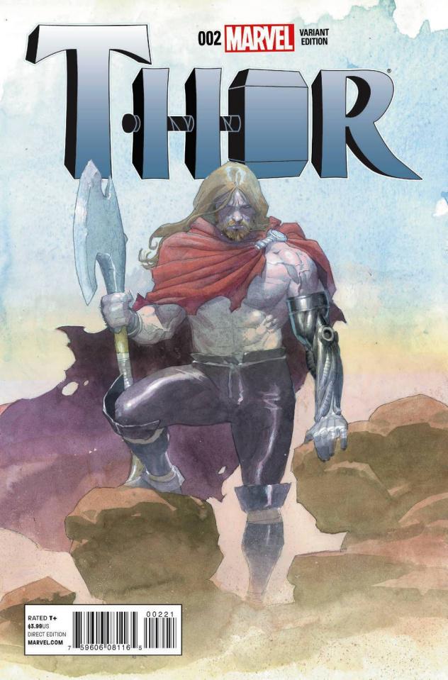 Thor #2 (Ribic Design Cover)