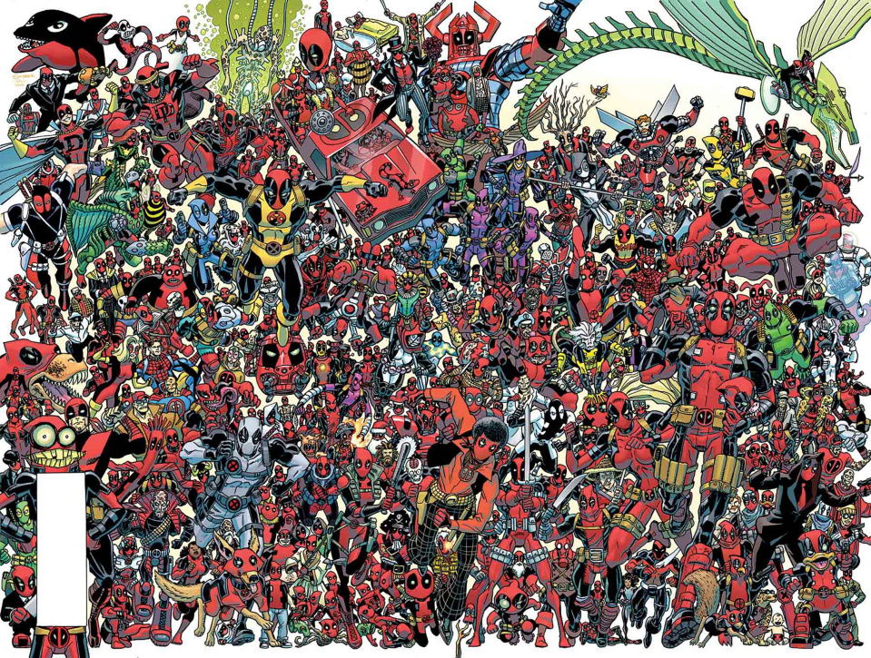 The Despicable Deadpool #300 (Koblish 300 Deadpools Wraparound Cover)